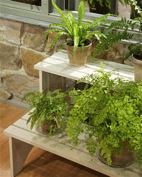 build   tiered plant stand woodworking projects