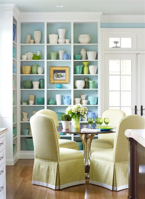 how to decorate a showcase arrange shelves to showcase collections traditional home