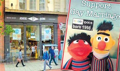 christian bakery  refused   gay marriage cake