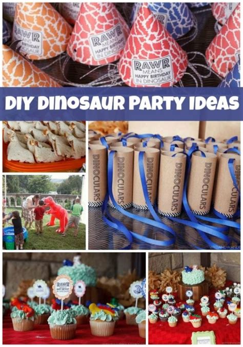 outdoor dinosaur birthday party ideas spaceships