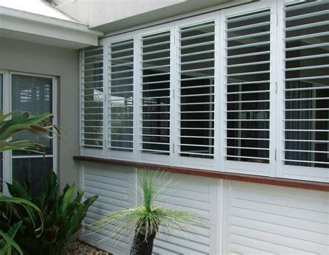perth aluminium louvered shutters  blinds gallery