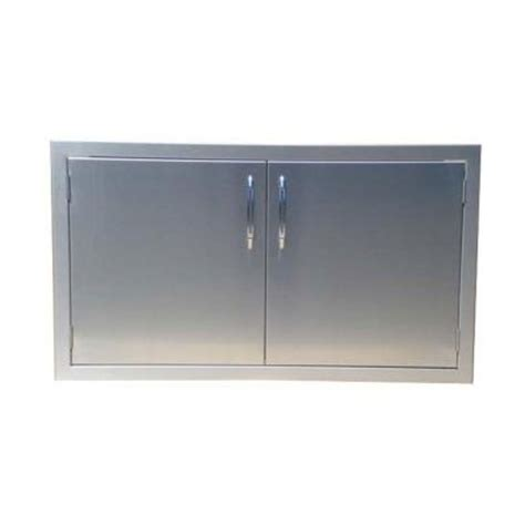 access door home depot capital precision 40 in built in stainless steel