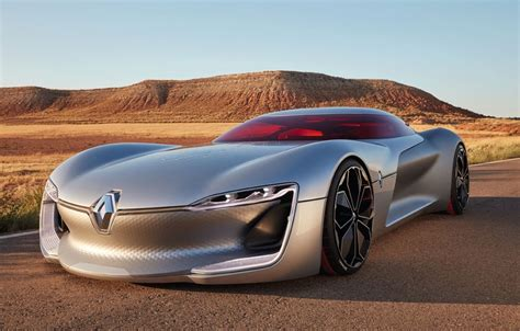 Renault Concept by Renault Trezor Concept Wows At Motor Show