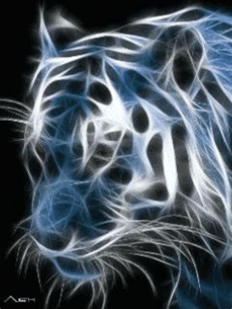 fond 233 cran anim 233 mobile gratuit tigre electrique
