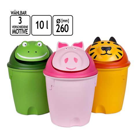 Mulleimer Kinderzimmer by 10 Liter Kinder Abfalleimer M 252 Lleimer Papierkorb