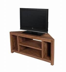Meuble Angle Tv : meuble tv d 39 angle palissandre naturel mobilier ~ Teatrodelosmanantiales.com Idées de Décoration