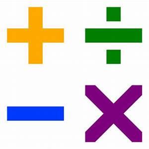 Arithmetic Symbols - Math Pictures, Images & Clip Art