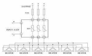 480v Ac Control 3 Phase Ssr Dc To Ac Three Phase Solid State Relay