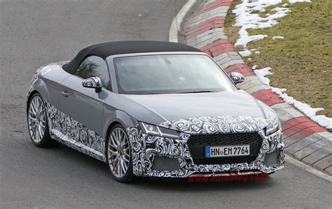 Audi Spotted Testing New Roadster The Nurburgring