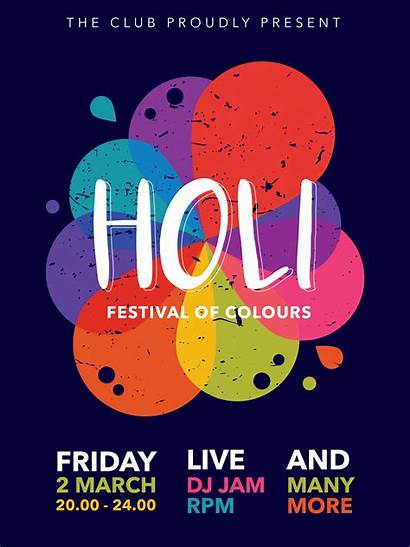 Poster Holi Festival Vector Vecteezy Edit Onam