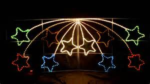 giant shooting star christmas outdoor light youtube