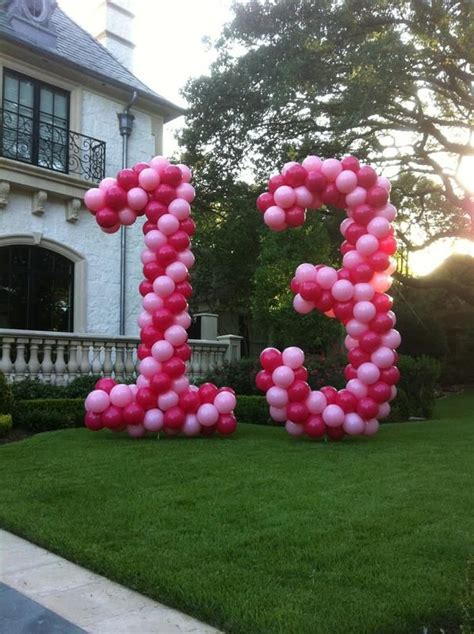 How to decorate with balloons? Balloons Everyday | Birthday balloons, Balloons, Number balloons