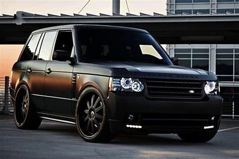 luxury black range rover matte black range rover cars pinterest flats i am