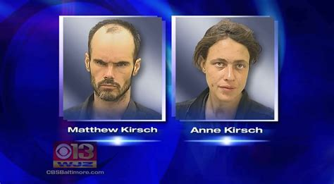 Baltimore Parents Matthew And Anne Kirsch Charged With