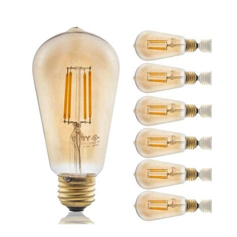 6 gmy vintage led light bulbs best price