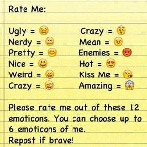 Rate Me Pictures for Facebook   Rate me and choose up to 6 ...