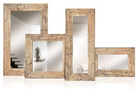 cornici per specchi in legno specchi in legno vecchio di recupero patchwork