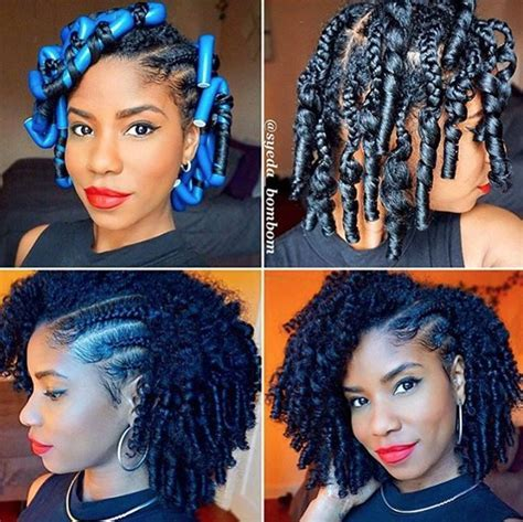 Flawless braid and curl @syeda bombom   Black Hair Information