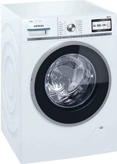 waschmaschine 8 kg 1600 umdrehungen siemens waschmaschine iq800 wm6yh841 8 kg 1600 u min