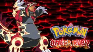 Pokemon Omega Ruby Wallpaper