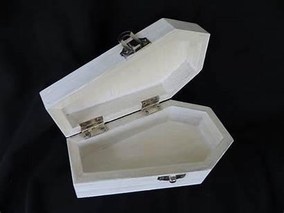 Coffin Box Jewelry Mini Halloween Metallic Started