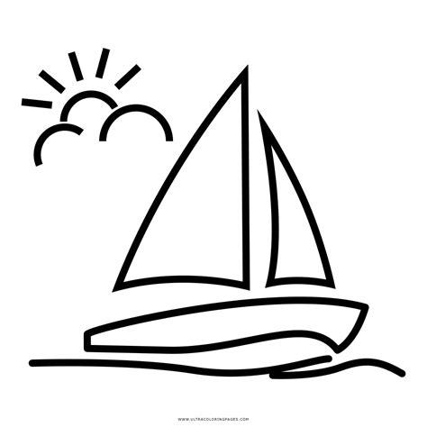 Velas De Barcos Para Colorear by Barco A Vela Desenho Para Colorir Ultra Coloring Pages