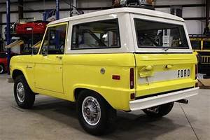 1971 Ford Bronco 67666 Miles Yellow Suv 302 V8 Manual For