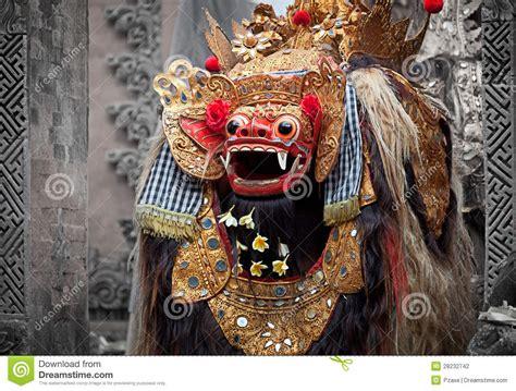barong character   mythology  bali indonesia