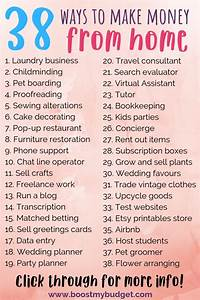 Ways To Earn Money As A Kid 54 Sure Fire Ways To Make Money From Home Boost My Budget