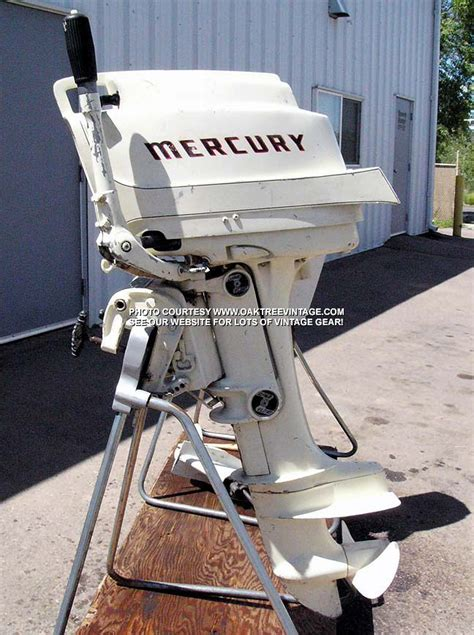 Old Boat Motors by Old Merc Vintage Outboards Pinterest