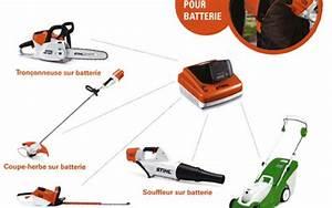 Tronconneuse Stihl Electrique Batterie : gamme outils de jardin a batterie location outils de jardin ~ Premium-room.com Idées de Décoration