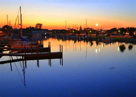 Small Boat Harbor by Small Boat Harbor Alpena Michigan The 45th Parallel