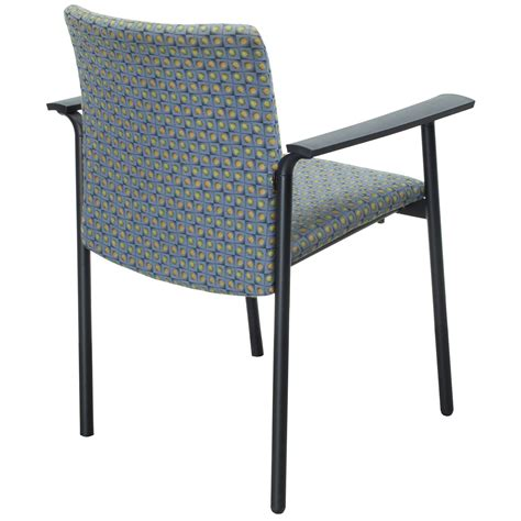 steelcase jersey used stack chair multicolor design