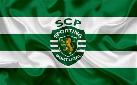 Download Wallpapers Sporting, Football Club, Lisbon