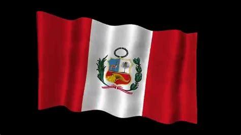 animado con un poquito de fx de la bandera y escudo peru