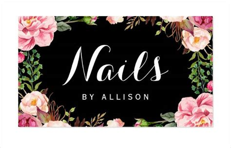19+ Nail Salon Business Card Templates Business News For Card Factory Visiting Computer Graphics Zkb Gold Gsm Best Points Guy Amex Canada Design Photographer American Express Green Benefits