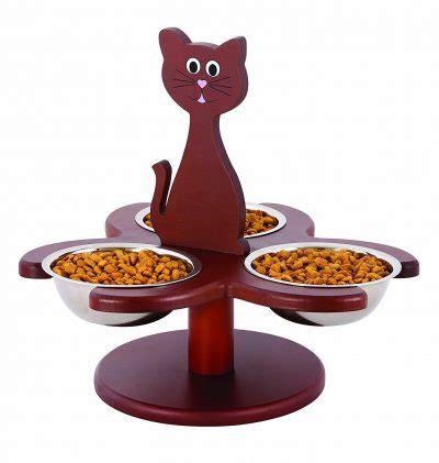 pet store wood multi cat raised feeder review   work