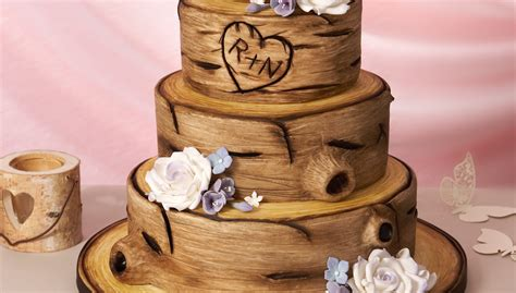 How To Make Tree Bark Wedding Cake | ogvinudskillelse.website