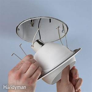 Upgrade a recessed light fixture the family handyman