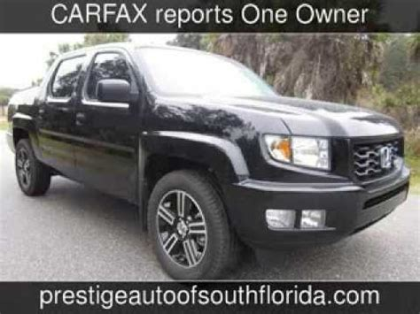 Used Cars In New Richey Fl by 2013 Honda Ridgeline Sport Used Cars Craigslist