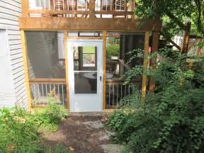 Under Deck Screened Patio Enclosures