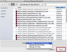 How To Open Indesign Cs5 5 Files In Adobe Indesign Cs5