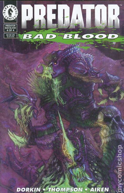 predator bad blood  comic books