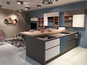 peinture bleu gris scandinave peinture pinterest With meuble de cuisine ilot central 0 cuisine leicht et lineaquattro