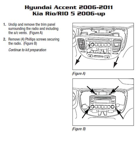 2007 kia rioinstallation instructions