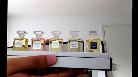 Chanel Miniature Perfume Set
