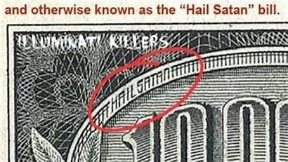 Satan Hail Bill Message Subliminal Messages Illuminati