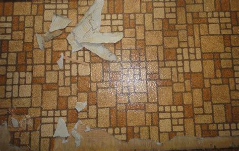 residential resilient sheet flooring  asbestos backing