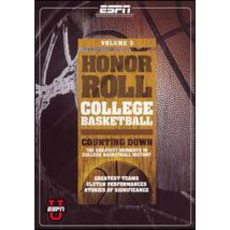 upc honor roll college basketball vol