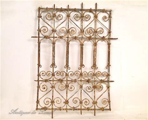 grille de fen 234 tre marocaine en fer forg 233 peint xxe ebay